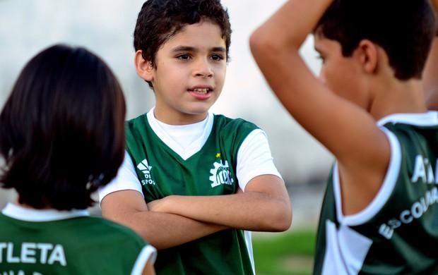 Especial Dia das Crianças: Pedro Yã, torcedor do Icasa (Foto: Arquivo Pessoal)