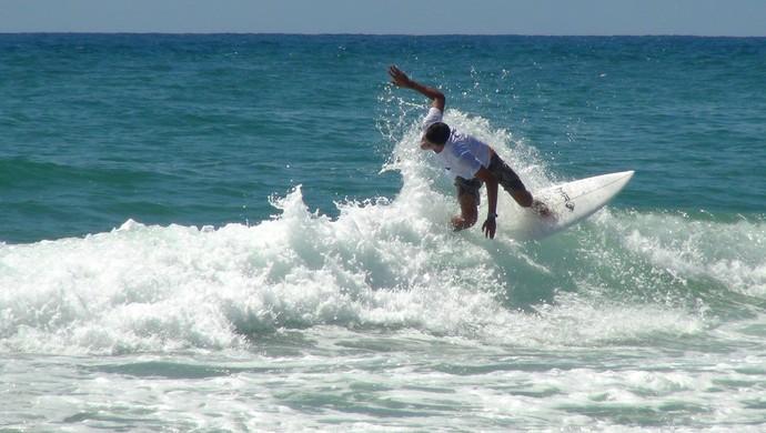 Amando Tenório e Marcos Borgognoni surfe al (Foto: Viviane Leão/GloboEsporte.com)
