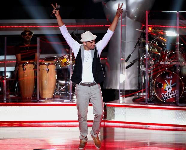 Diego Azevedo encantou a plateia do The Voice Brasil (Foto: The Voice Brasil/TV Globo)