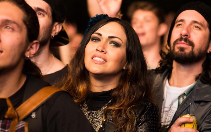 A mulherada capricha no visual para curtir cada minuto de som no João Rock (Foto: Érico Andrade/Gshow)