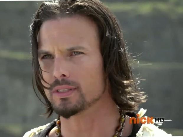 Ricardo Medina como vilão em 'Power Rangers Samurai' (Foto: Reprodução)
