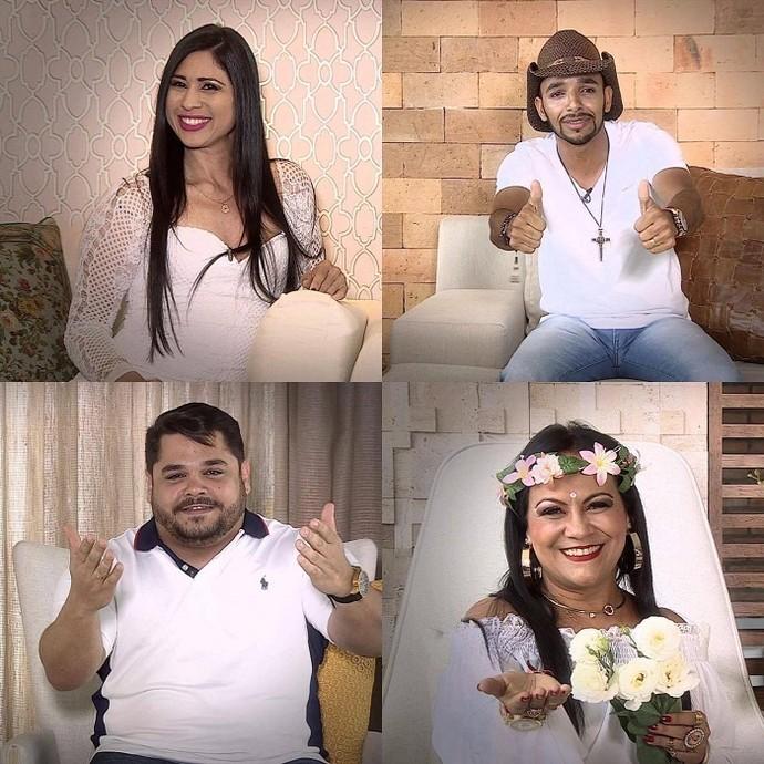 Para dar aquela reforçada nos pedidos, alguns artistas sergipanos não abrem mão de uma boa simpatia (Foto: TV Sergipe)