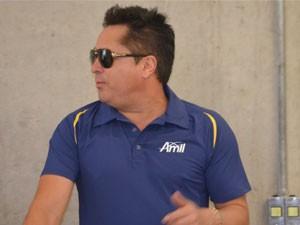 Leonardo faz show de lançamento da equipe de Campinas (Foto: Heitor Esmeriz/Globoesporte.com)