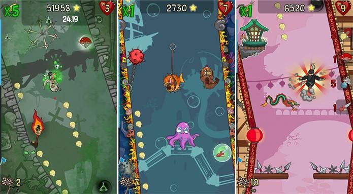 Chickens Cant Fly é um jogo bonito e animado para Windows Phone (Foto: Divulgação/Windows Phone Store)