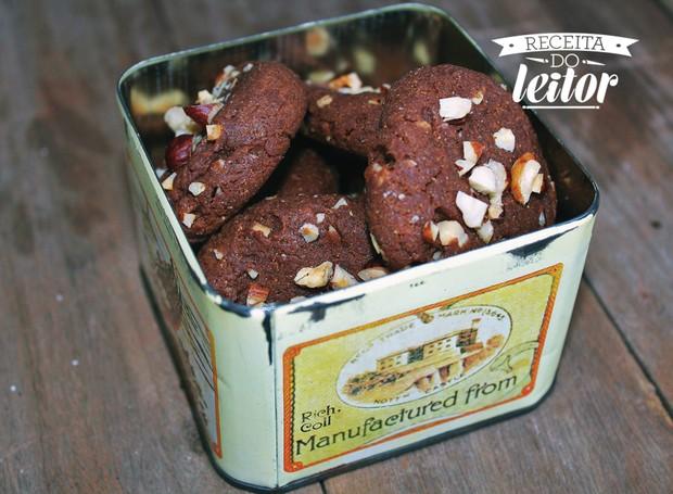 Cookies de creme de avelã (Foto: Leticia Kamei / Instagram @poesia_dos_olhos)