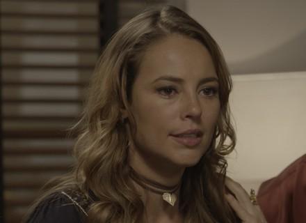 Final de 'Além do Tempo': Melissa surta após juiz dar a guarda de Alex para Felipe