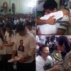 Missa lembra fotógrafos e assessor  (Cacyone Gomes / TV Globo)