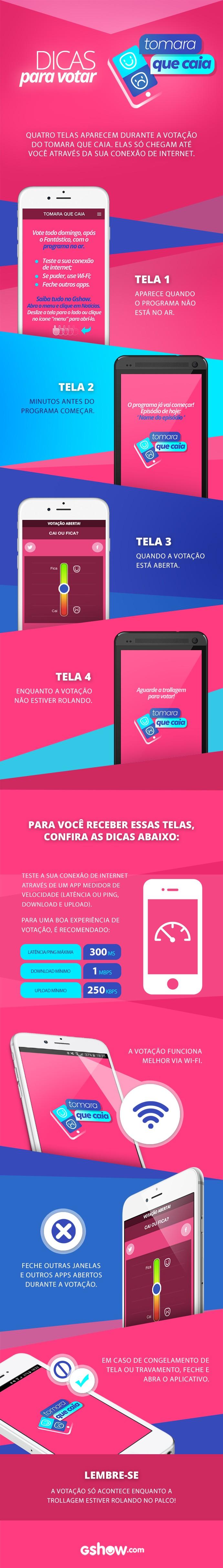 Confira dicas para votar no Tomara que Caia (Foto: Arte: Gshow)