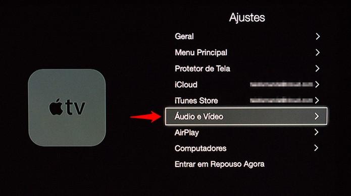 Ajustes de áudio e vídeo (Foto: Reprodução/Alessandro Junior)