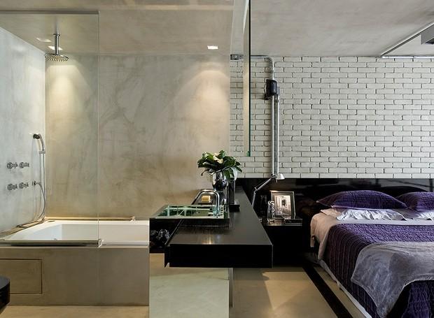 Você viveria assim, com todos os espaços juntinhos, sem nenhuma divisão?  (Foto: Divulgação)
