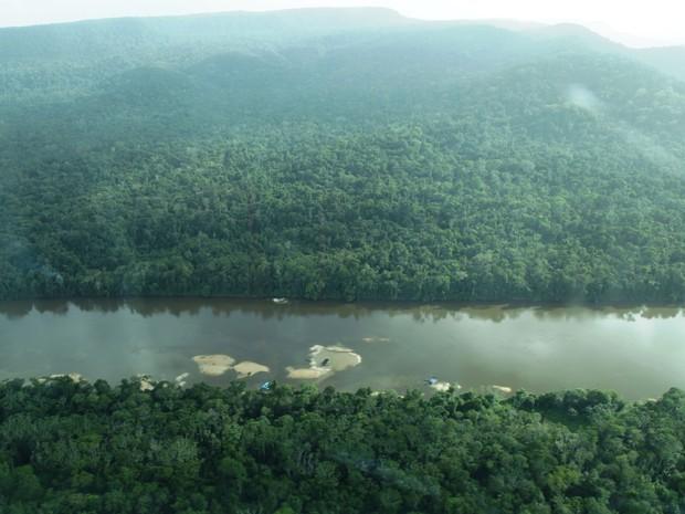 Pesquisa revelou alta concentração de mercúrio em índios Yanomami e Ye'kuana (Foto: Divulgação/Marcos Wesley de Oliveira/ISA)