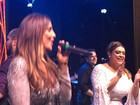 Ivete, Anitta e Daniela Mercury cantam em casamento de Preta Gil