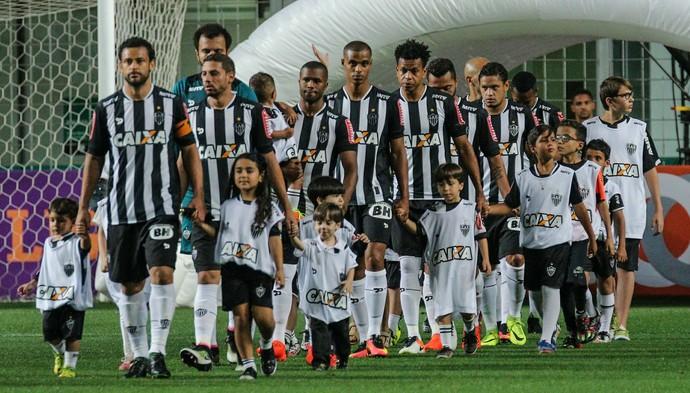 Contra o Vitória, Atlético-MG entrou em campo com time bastante modificado (Foto: Bruno Cantini /Flickr do Atlético-MG)