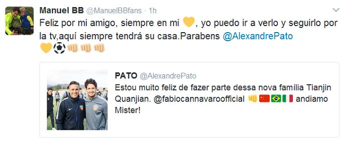 "BLOG: Fã mirim se despede de Pato no Villarreal: ""Aqui sempre será sua casa"""