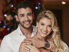 Gusttavo Lima e Andressa Suita se casam discretamente em Goiânia