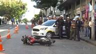 Homem morre atropelado por motocicleta em Belo Horizonte