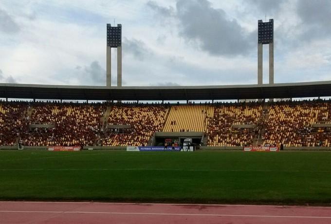 Estádio Castelão  TR Sampaio x Moto Club - 3101 (Foto: João Ricardo Barbosa/G1)
