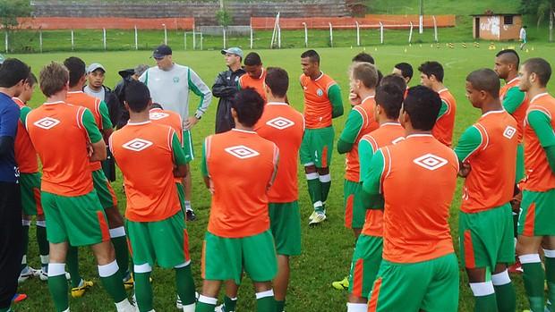 Chapecoense treina antes de encarar o Camboriú (Foto: Diego Carvalho, divulgação Chapecoense)