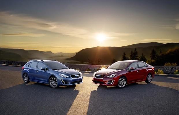 Subaru Impreza 2015 (Foto: Divulgação)