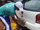 Lavador de carros faz 'vaquinha' com clientes para virar atleta de elite no DF