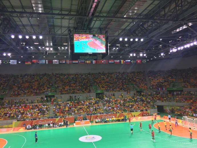 Handebol feminino Brasil x Noruega (Foto: Thierry Gozzer)
