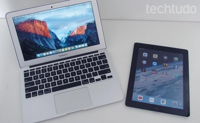 Aprenda a usar um iPad para ampliar o desktop do Mac (Foto: Paulo Alves/TechTudo )