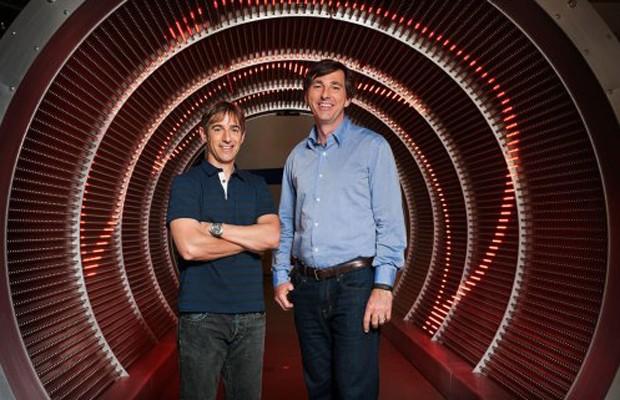 Mark Pincus (esq.), ex-CEO da Zynga, e Don Mattrick, contratado para assumir o posto (Foto: Divulgação)