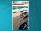 Polícia busca ladrões que fugiram de Curiúva com reféns em caminhonete