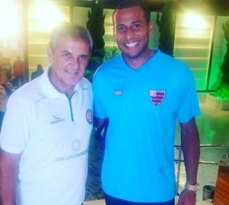 Rodolfo, goleiro, Oeste, Zé Roberto Guimarães, Instagram (Foto: Reprodução / Instagram de Rodolfo)