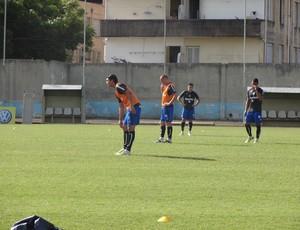 Marcelo Moreno retomou treinos no Grêmio (Foto: Hector Werlang/Globoesporte.com)