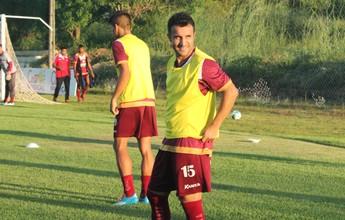 Sem segredos, Capitão define time para jogo com Belo; Almir Dias dentro