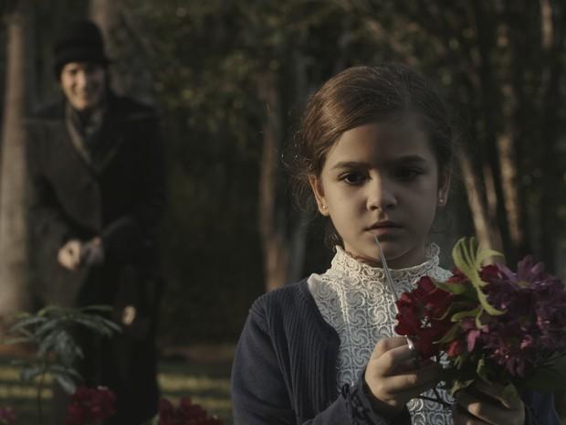 Mel Maia em cena do filme (Foto: Divulgação)