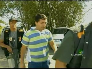 Prefeito de São Sebastião do Alto, RJ, é preso após flagrante de propina (Foto: Reprodução)