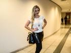 Ellen Rocche, Fernanda Paes Leme e mais vão ao teatro em São Paulo