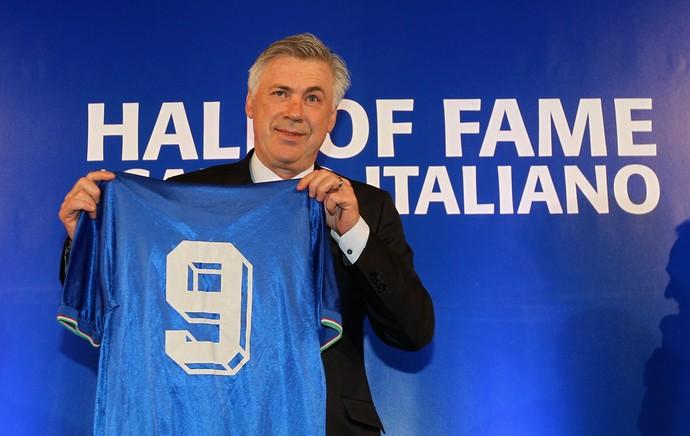 Carlo Ancelotti Hall da Fama (Foto: Getty)