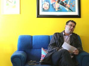 Roberto Robaina é o candidato do PSOL para a disputa de governador do RS (Foto: Felipe Truda/G1)