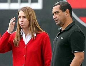 Patrícia Amorim e Zinho Flamengo (Foto: Cezar Loureiro / Agência O Globo)