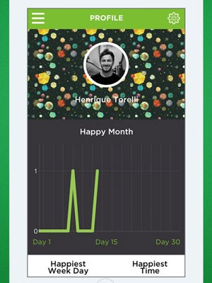 App 'Who is Happ' mostra as pessoas que estão fumando maconha por perto. (Foto: Divulgação/Who is Happy)