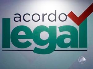 Acordo Legal na Bahia (Foto: Reprodução/TV Bahia)