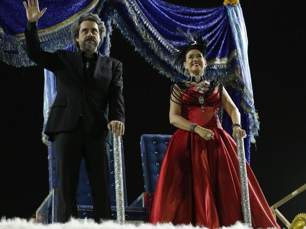 Alexandre Nero e Lilia Cabral gravam Império (Foto: Felipe Monteiro/Gshow)