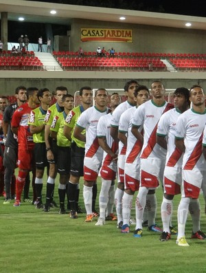 CRB venceu o Feirense por 3 a 1 no Rei Pelé (Foto: Henrique Pereira / Globoesporte.com)