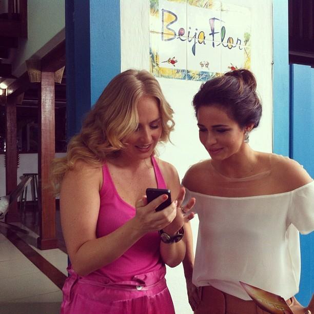 Nanda Costa posta foto com Angélica (Foto: Instagram / Reprodução)