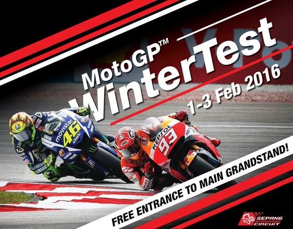 BLOG: Mundial de MotoGP - A pré-temporada 2016 começa  com o primeiro dos três dias de testes oficiais em Sepang, Malásia...