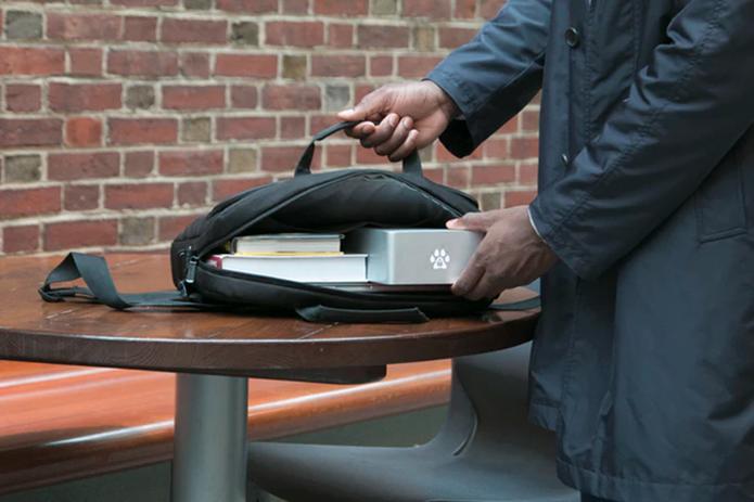 Wolfe se conecta aos Macs via porta Thunderbolt (Foto: Divulgação/Wolfepack)