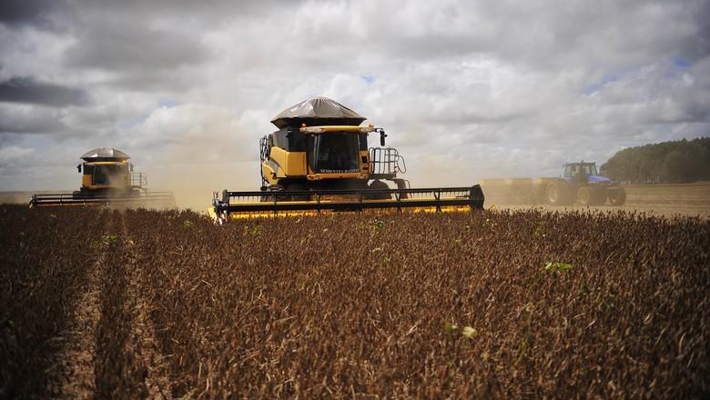 agricultura_soja_colheita (Foto: Ernesto de Souza/Ed. Globo)