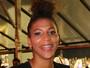 Rafaela Silva capricha na maquiagem e no penteado para curtir carnaval