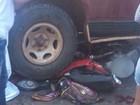 Acidente com caminhonete, bicicleta e moto mata 2 e fere 3 em Uruana, GO