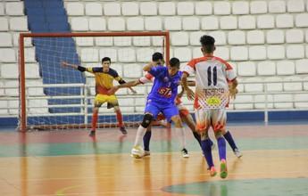 Recanto e Abílio se classificam para as semifinais do AM de futsal Sub-20