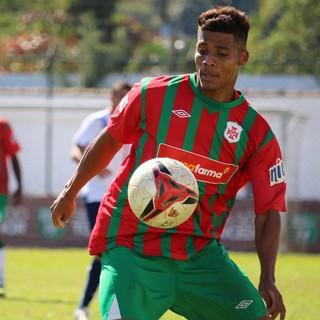 Willian - Portuguesa Santista (Foto: Douglas Teixeira/Futebol Santista)