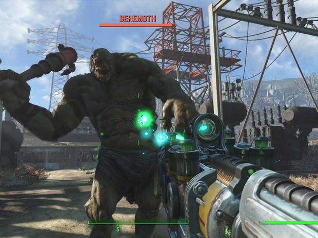 Super mutantes são apenas uma das ameaças que povoam 'Fallout 4' (Foto: Divulgação/Bethesda)
